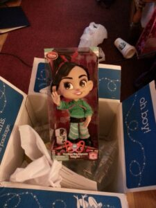Vanellope, boxed