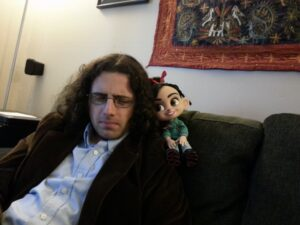 Bryan and Vanellope