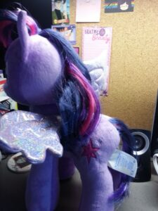 Twilight's looking a little scruffy around the edges...