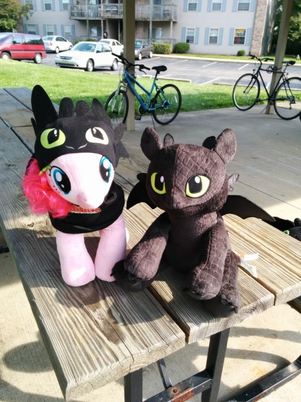 Toothless and... Toothless?