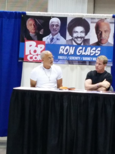Ron Glass, who I was much too shy to go up and ask for a photo with him.