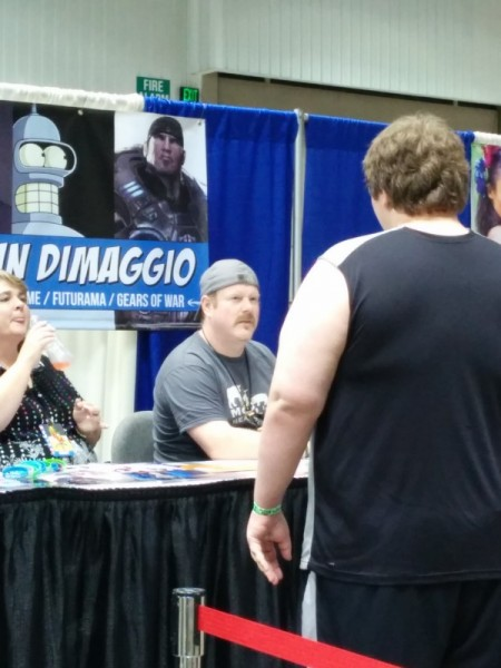 John DiMaggio!  I can't believe how many voices he's done...