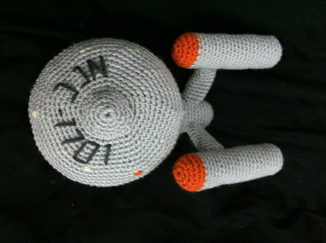 Free Amigurumi Star Pattern : Seven awesome free nerdy crafts The Crafty Nerd