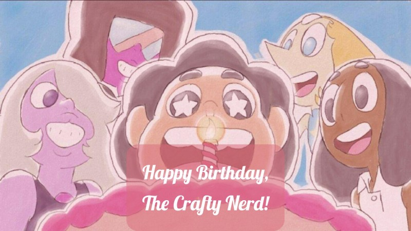 Happy 4th birthday, The Crafty Nerd!