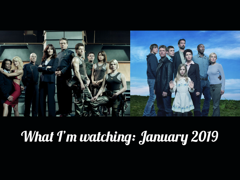 What I'm watching: January 2019