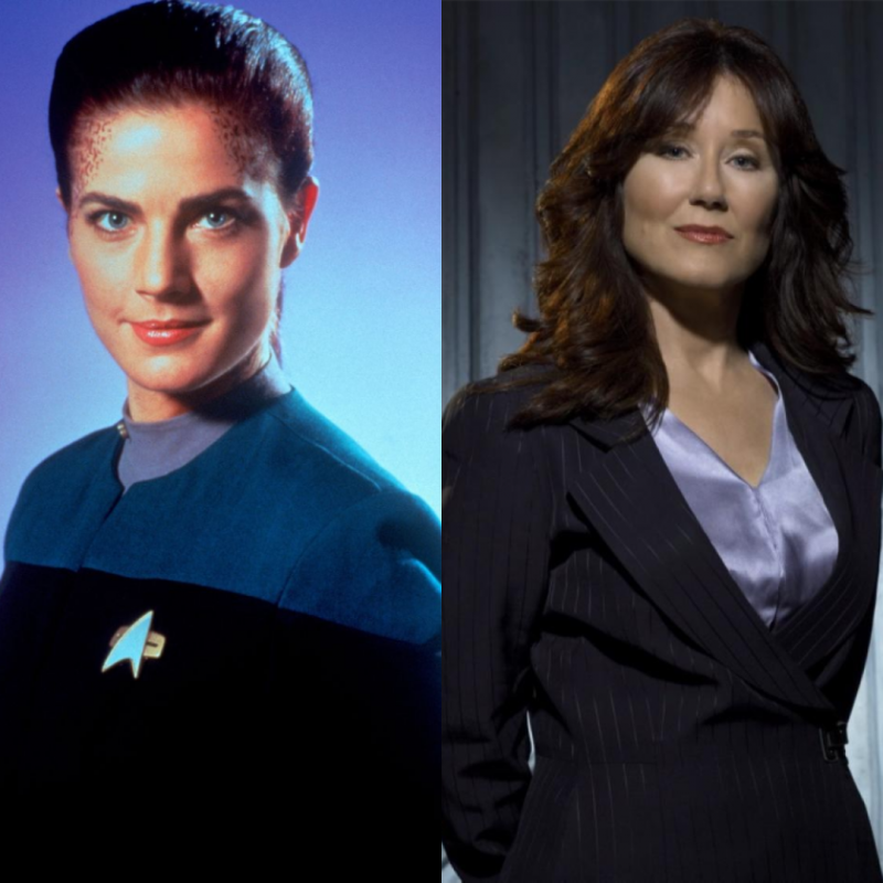 Jadzia Dax and President Roslin, the two characters I'm planning to cosplay as for Gen Con 2019.