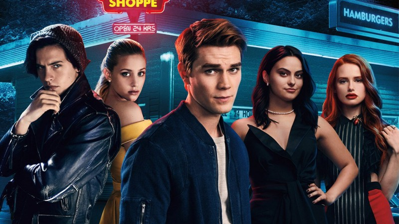 What I'm watching in June: Riverdale. Photo features the main cast of the show.