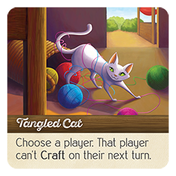 Tangled Cat card from ArchRavels.