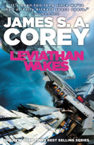 Cover Art for Leviathan Wakes, book one of The Expanse